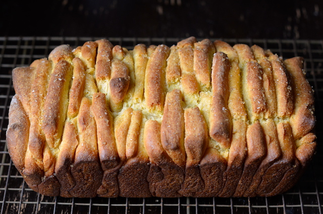 baked pull-apart cornbread