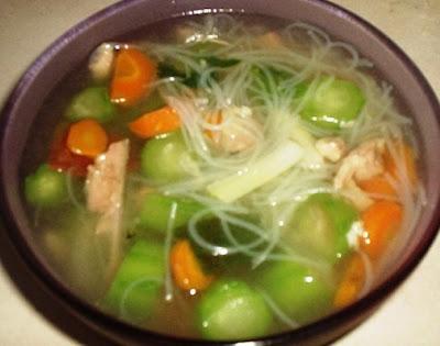 Cara Membuat Sup Sayuran