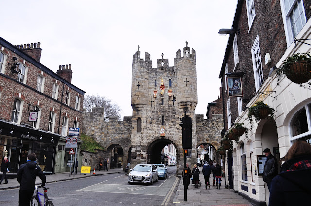 Micklegate Bar in York