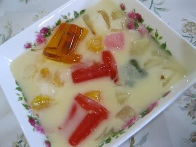 resepi fruit koktail