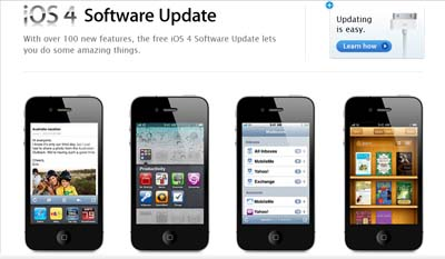 iOS 4 Siap Download untuk iPhone, iPod Touch