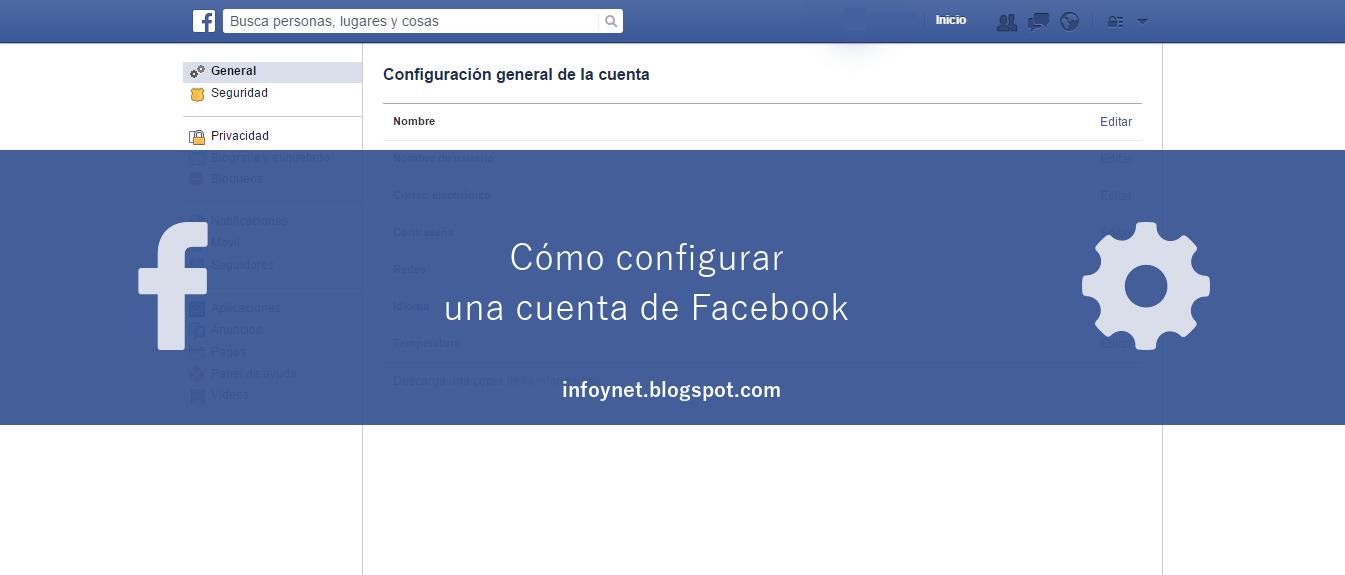 Cómo configurar una cuenta de Facebook
