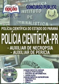 Apostila Concurso Polícia Científica do Paraná 2017