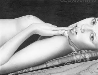 Bocetos Lapiz Mujeres Desnudas