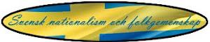 Svensk nationalism och folkgemenskap