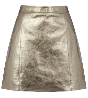 Metallic leather pelmet skirt warehouse