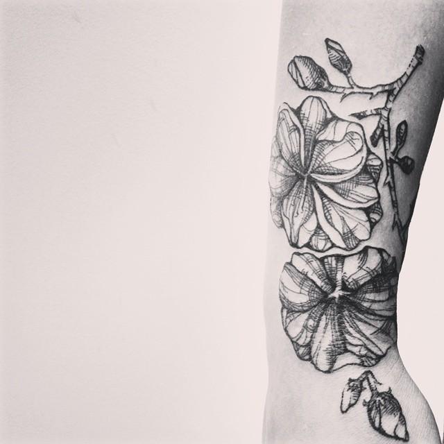 Tatuagem de Flores - Tattoos