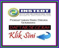 Pendaftaran INSTEDT Dibuka