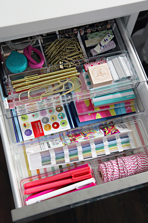 Innovative Desk Drawer Organization Ideas Use Dollar Store Utensil Organizers