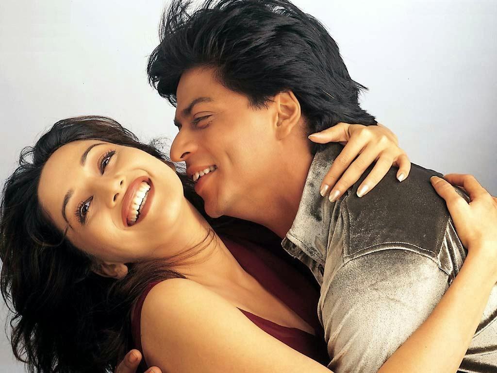 Shahrukh Khan & Madhuri Dixit Couple Free HD Wallpapers Download