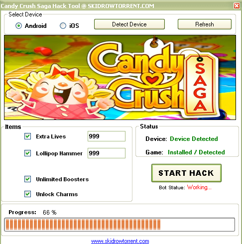 Candy crush saga facebook hack/cheat trainer download, Candy crush