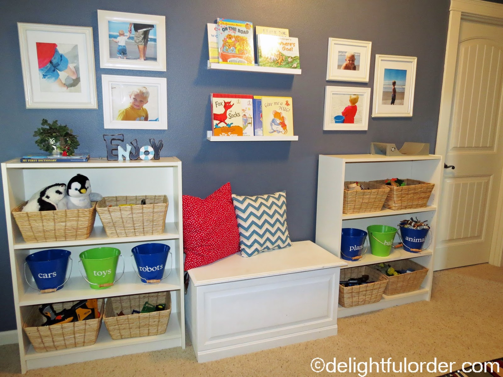 Playroom Furniture Ikea Billy Delightful Order Toy Room Tour