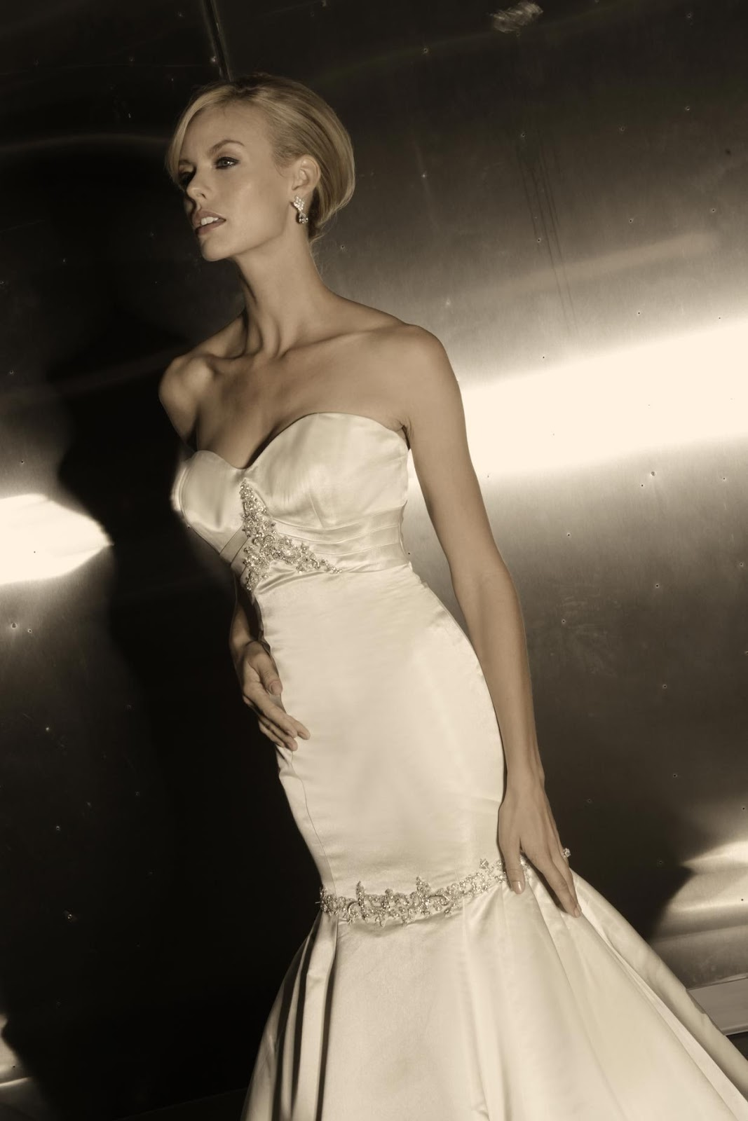 Simone Carvalli Spring 2014 Bridal Collection