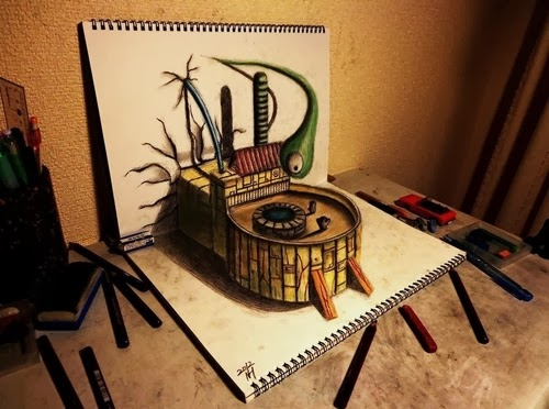 17-NAGAI-HIDEYUKI-Hide-永井-秀幸-3D-Pencil-Drawings-www-designstack-co