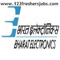 BEL Freshers Job openings 2015