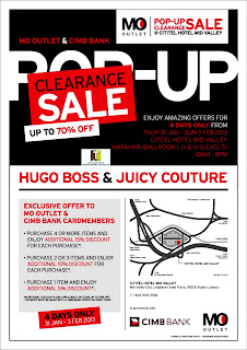 MO Outlet Pop-Up Clearance Sale 2013