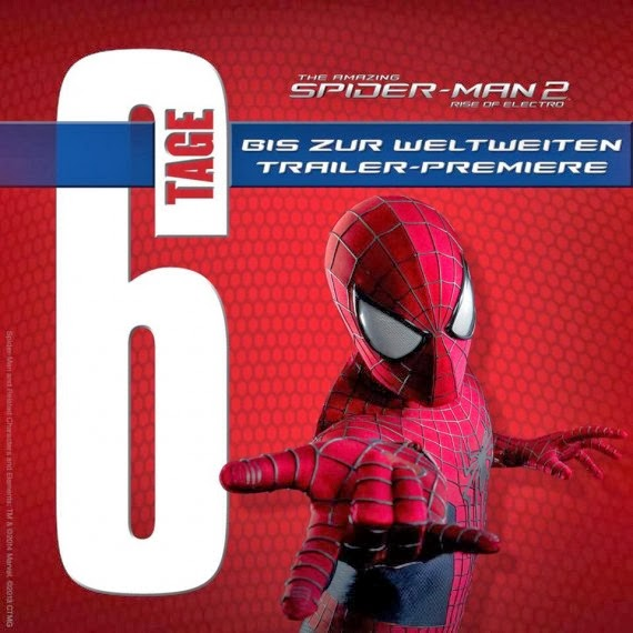 the amazing spider-man 2,german banner