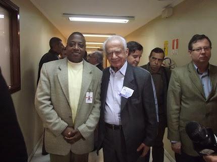 Jornalista: Nelson Silva e o Senador Gaúcho Pedro Simon