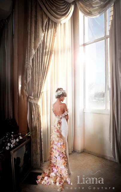 Красивые свадебные платья.