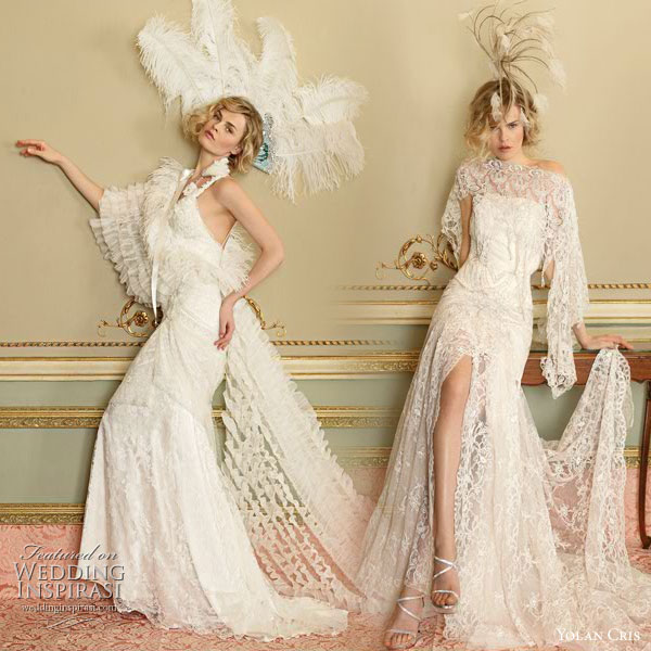 lamb blonde wedding wednesday roaring twenties