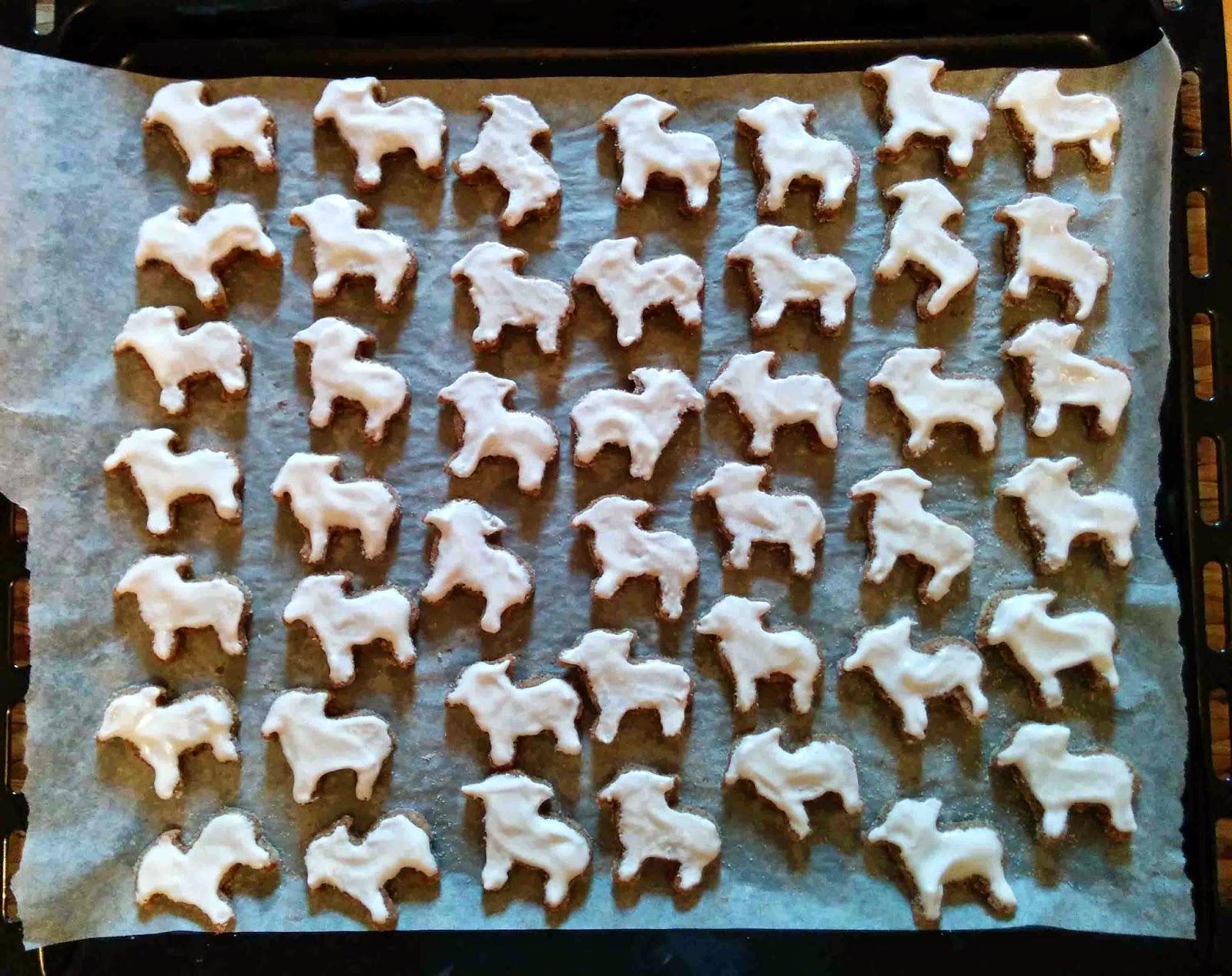 Moutons à la cannelle