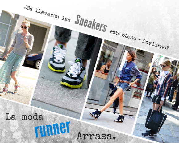 sneakers moda runner tendencias