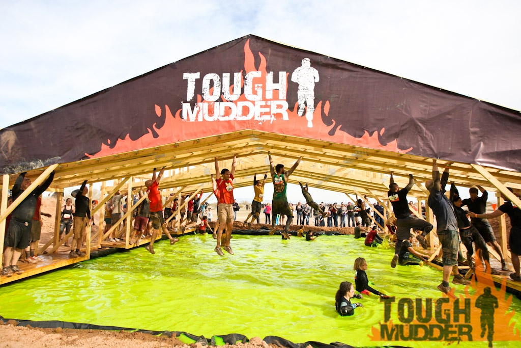 How many monkey bars in tough mudder
