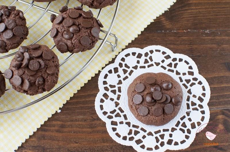 galleta de chocolate sin lactosa
