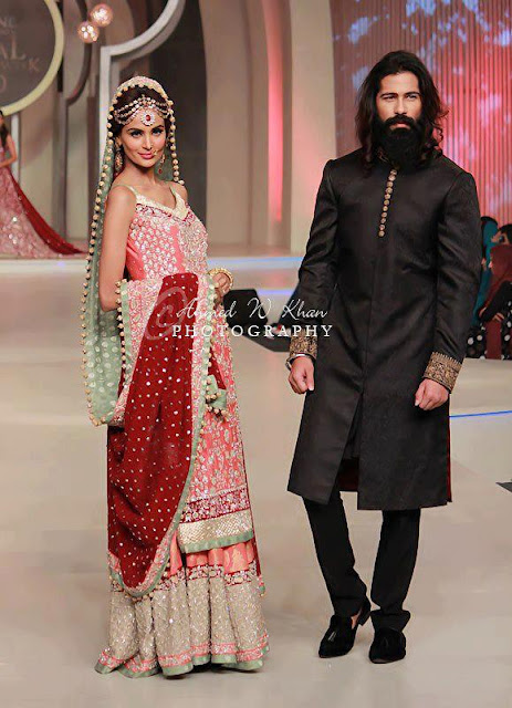 Pakistan Celebrities Pantene Bridal Couture Week 2013 Album 8