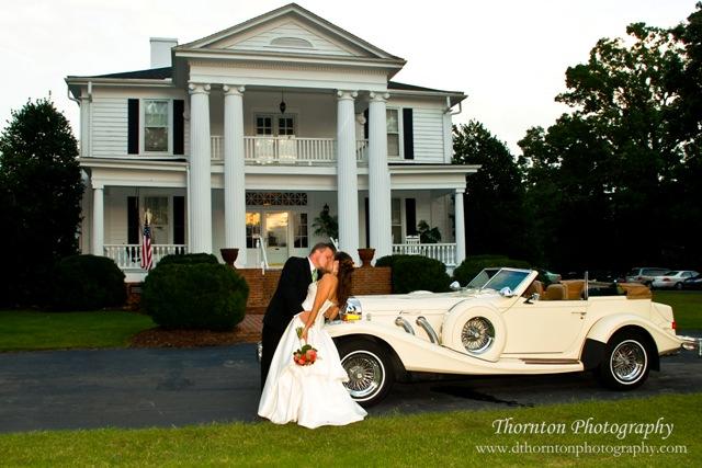 NC Wedding Venue All Inclusive The Hudson Manor Estate October 2011