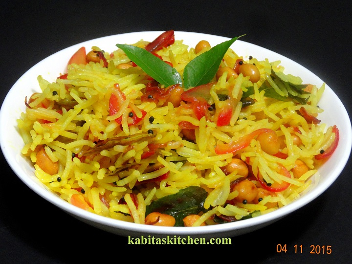 Lemon Onion Rice With Onions Easy And Quick Recipe For Lunch Box