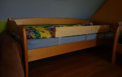 Zábrana na postel pro děti