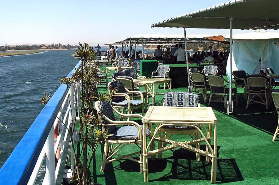 River Nile ship deck