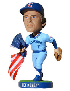 Rick Monday Flag Saving Bobblehead