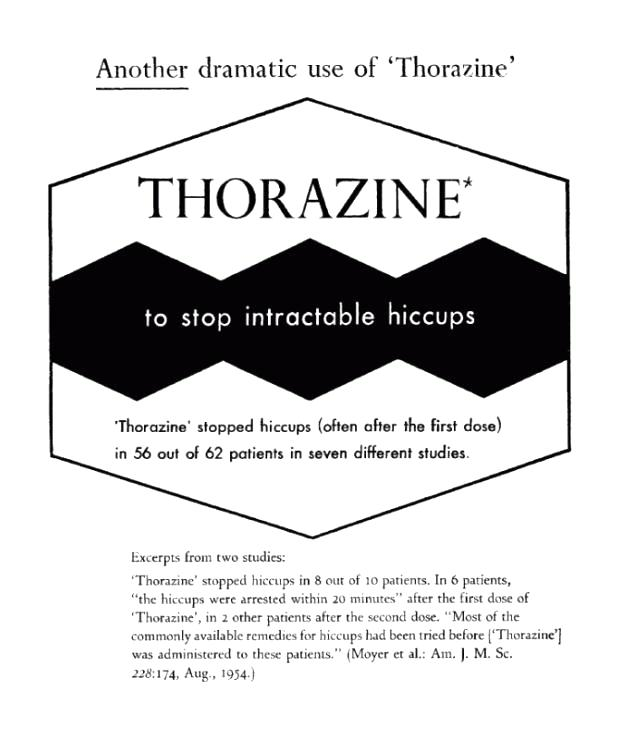 Thorazine Medication For Hiccups