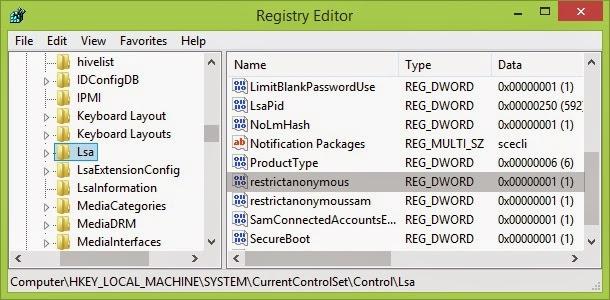 Mengatasi Sharing Folder Windows 8.1 Yang Tidak Bisa Diakses dari Windows 7