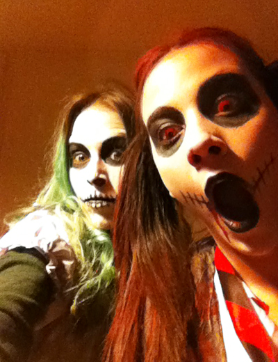 bff`s scary doll the ring girl & britney spears zombie
