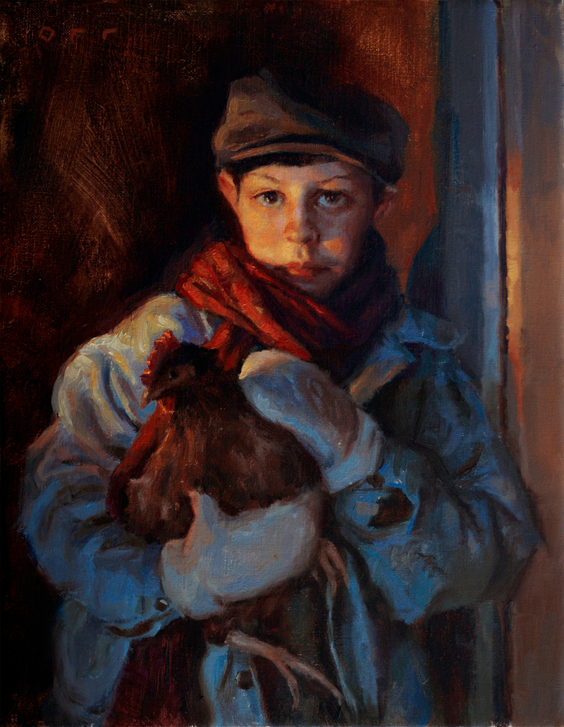 Andrea Orr | American Figurative painter