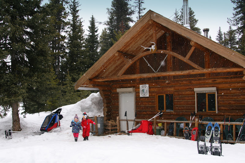 Family adventures in the canadian rockies snowy for Lake tahoe winter cabin