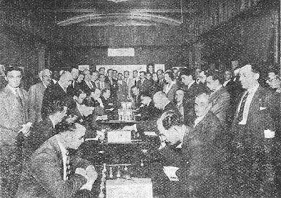 I Torneo Internacional del Ajedrez Condal Club, 1934