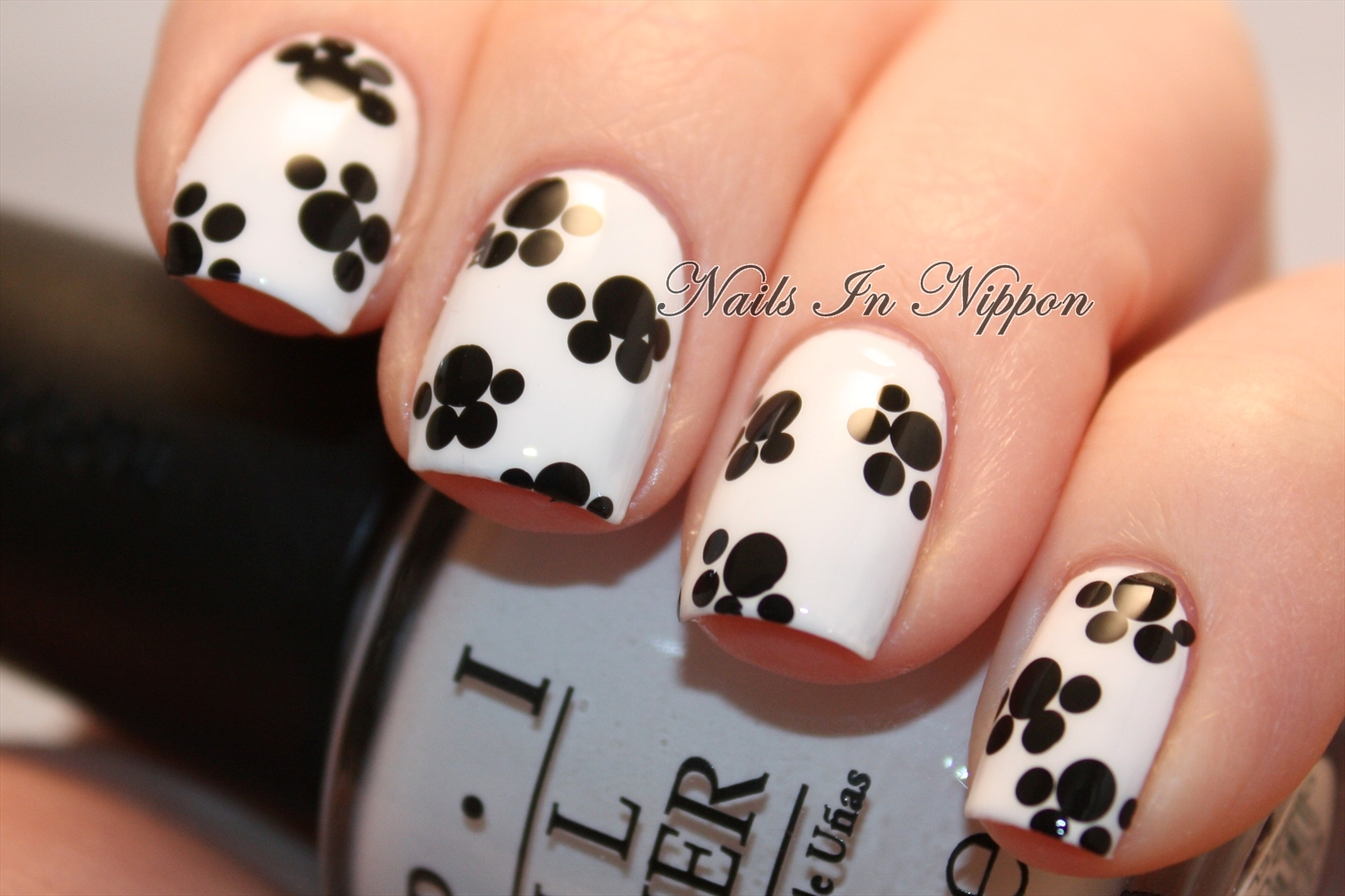 Nails In Nippon: Paw Prints