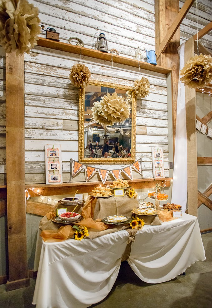 Rustic DIY Fall Wedding