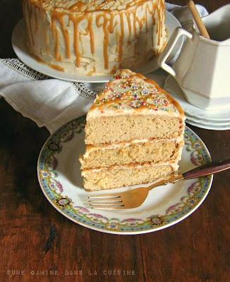 Antique Caramel Cake | une gamine dans la cuisine
