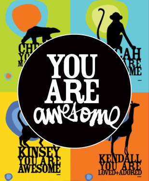 You are awesome website graphic by Kal Barteski