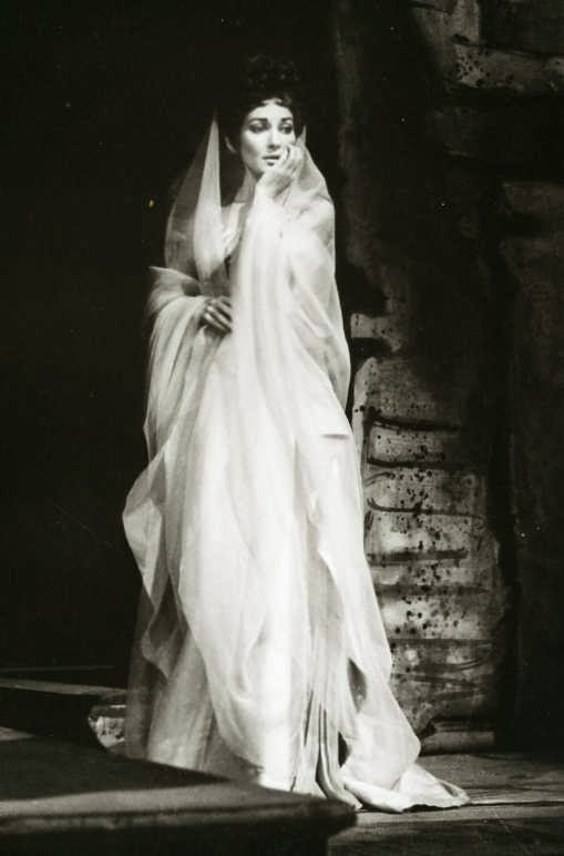 Maria Callas On Stage Of commanding a stage