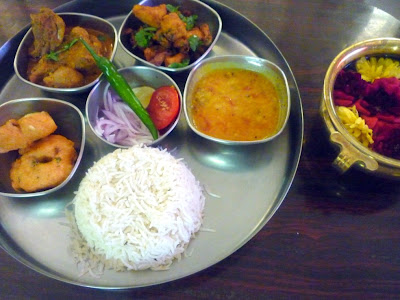 Chicken Curry ~ Andhra Thali