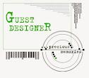 """Я - приглашенный дизайнер в блоге """"...precious memories"""""""