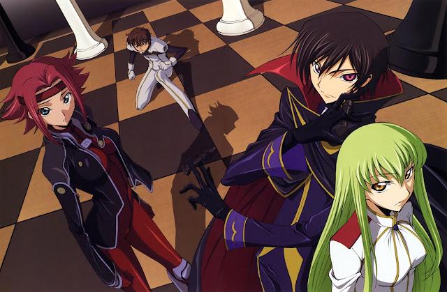 Code Geass z najbardziej zaskakującym zakończeniem anime