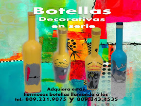 BOTELLAS DECORATIVAS