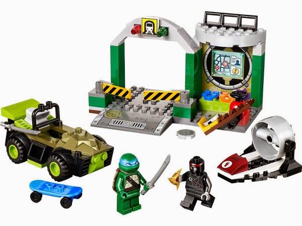 JUGUETES - LEGO Juniors  10669 La guarida de las Tortujas Ninja   Toys | Producto Oficial | Edad: 4-7 años